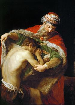 The Prodigal Son (1) Pompeo Batoni (1773)