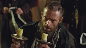 jean valjean with candlesticks